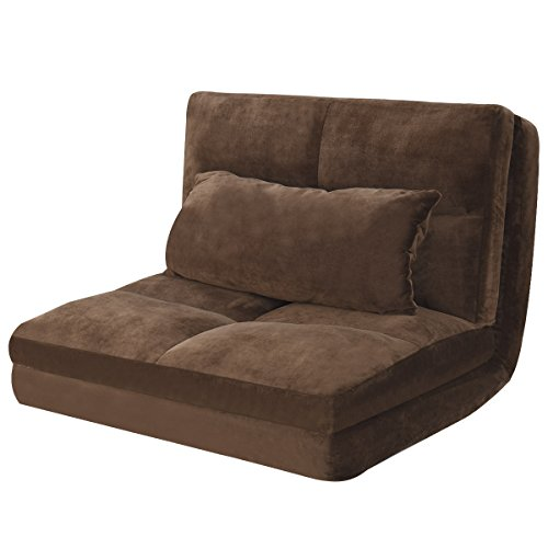 Giantex Fold Down Sofa Bed Floor Couch Foam Folding Modern F