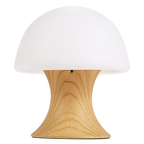 Mushroom Ball (XKTTSUEERCRR Rechargeable Multicolor LED Night Lamp, Silicone Light Ball and Mushroom Variable Appearance, Baby / Kids Mushroom Night Light Table/Desk Lamp with Timer Mode)