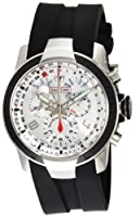 TechnoMarine Men's ' UF6 Swiss Quartz Plated-Stainless-Steel and Rubber Sport Watch, Color:Black (Model: UFC05