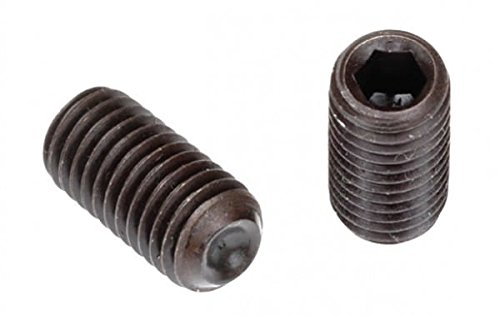 Socket Set Screw, Cup Point, DIN 916, M2-0.4 x 2mm, Alloy Steel Metric Class 14.9-45H, Black Oxide, Hex Socket (Quantity: 100) Coarse Thread, Thread Diamater: M2 x Length: 2mm by Newport Fasteners (Image #1)