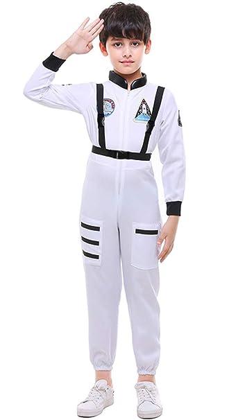 MOMBEBE COSLAND Disfraz de Astronauta para Niños de Manga Larga