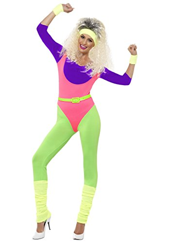 Women's 80's Work Out Jumpsuit Costume