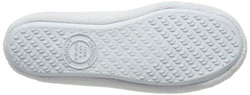 Isotoner 98968AQUSAMA, Zapatillas de estar por casa Mujer Blanco (White)