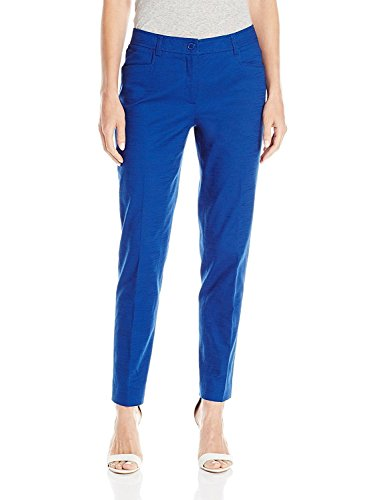 Anne Klein Women's Cotton Pique Pant, Mariner, (Anne Klein Capris)