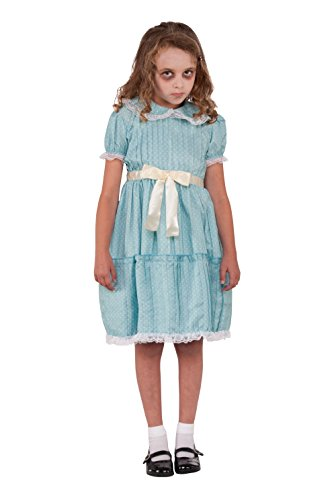 Forum Novelties 78771 Kids Creepy Sister Costume, Medium, Multicolor, Pack of 1
