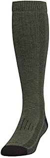 product image for Farm to Feet Men's Hickory Heavyweight Over-The-Calf Socks, Olive Night/Black