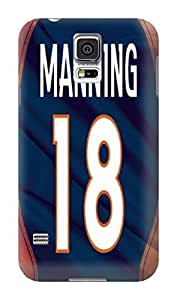 DIY Outstanding NFL Denver Broncos Hard Case Cover Fit For Samsung Galaxy S5