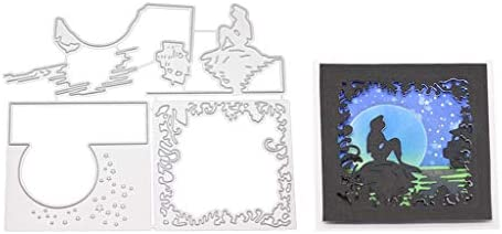 Sea Metal Cutting Dies Stencil DIY Scrapbooking Album Paper Card Embossing Craft