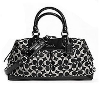 ac06fbc48764 Image Unavailable. Image not available for. Color  Coach Large Signature  Ashley Sabrina Convertiable Satchel Bag ...