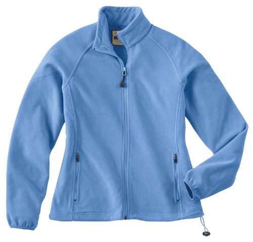 Ladies' Microfleece Unlined Jacket, Color: Lake Blue, Size: 2X-Large