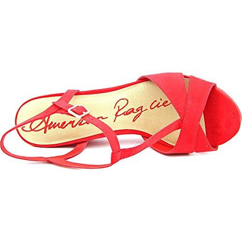 American Rag Jamie, Platform Sandalen Frauen, Offener Zeh, besonderer Anlass Red
