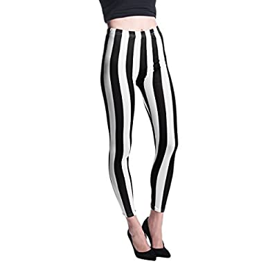 ECCRIS Women's Fashion Leggings Design Medium