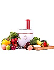Electric Salad Maker | Professional Slicer, Shredder, Chopper, Grater and Grinder | One Machine, 5 Blades | Ideal for Veggie, Fruits, Nuts, Cheese and Chocolate