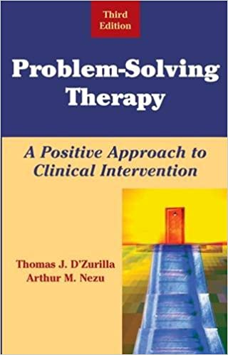 dzurilla problem solving therapy