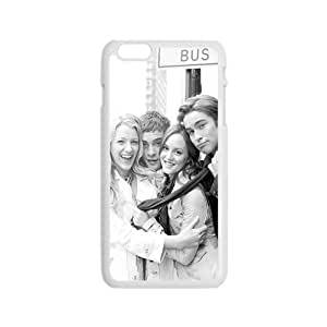 Happy gossip girl blair serena nate and chuck Phone Case for Iphone 6