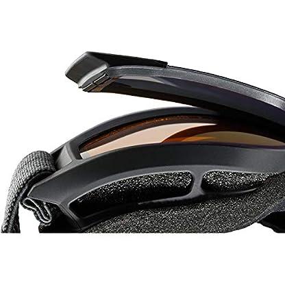 uvex Unisex– Erwachsene, g.gl 3000 TO Skibrille, black mat, one size 5