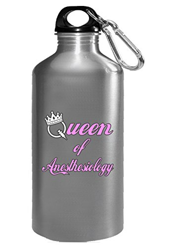 Queen Of Anesthesiology - Water Bottle