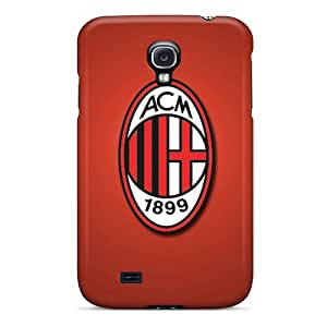 Special Nillesny Skin Case Cover For Galaxy S4, Popular Ac Milan Phone Case