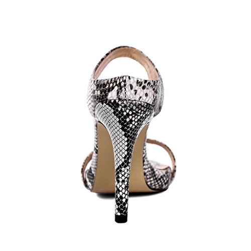 Female Fashion Heel Summer Heeled High Toe Sandals Thin and Soundproofing Spring Sexy Shoes Slippers Open 1 nxSgz