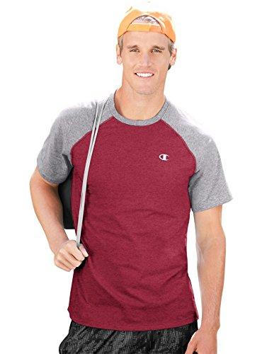 champion-mens-vapor-cotton-short-sleeve-raglan-t-shirt-seabotom-blue-ht-oxford-gray-l