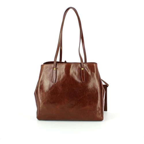 tout Fourre cuir braun brown Donna cm The brown 32 main Story Bridge Sac à xwFFTY0q
