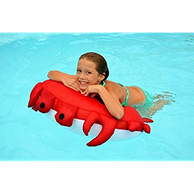 Main Access 305593 Sandy The Crab Seaside Rider Swimming Pool Float: Toys & Games