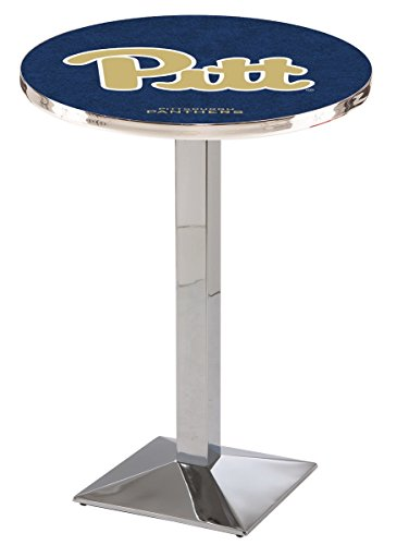 Holland Bar Stool L217C University Pittsburgh Officially Licensed Pub Table, 28