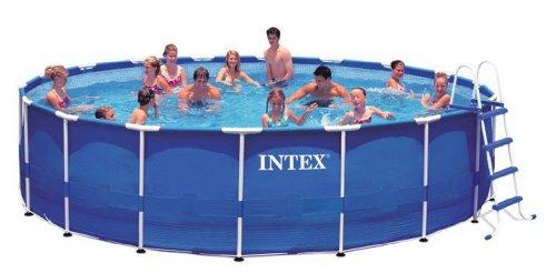 Tex 18 39 X 48 1500 Gfci 28251eh Intex 18 X 48 Metal Frame Swimming
