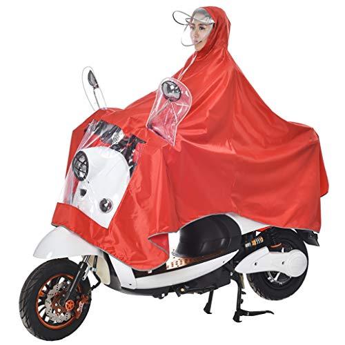 Equitazione Da Uomini Dimensioni Singolo Panno Xxxl Hyuyi colore E Ispessimento Batteria Moto Aumento A Poncho Auto Impermeabile Per Donne Adulti F U78OwqxB