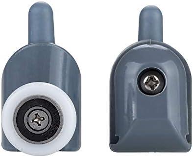starvast – Juego de 8 ruedas para puerta de ducha, ruedas de cabina de ducha para cuarto de baño 23 mm (4 superiores y 4 inférieures): Amazon.es: Bricolaje y herramientas