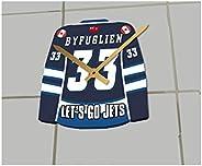 NHL National Hockey League Jersey Clocks - Free Customization - The Best A Fan CAN GET!!