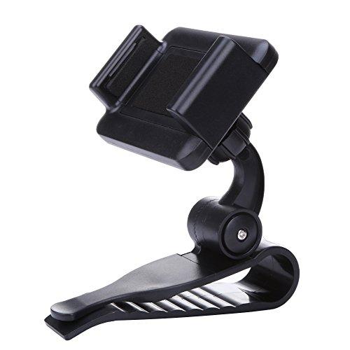 360 Car Sun Visor Mount Cradle Kit For Various Mobile Phones & GPS - 1