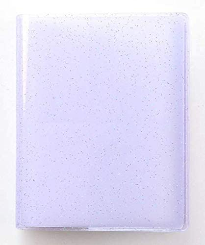 Yosuny Álbum de Fotos de Bolsillos para Fujifilm Instax Mini 11 9 8 7s 25 50 70 90, Sprocket HP, Kodak Mini película de 3 Pulgadas (64 Bolsillos, Flash Violeta)