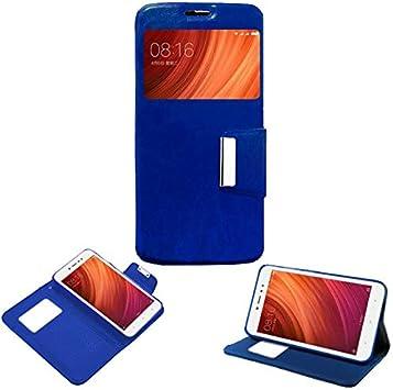 Mb Accesorios Funda Tapa Libro Azul para Xiaomi Redmi Note 5A/ Redmi Note 5A Prime: Amazon.es: Electrónica
