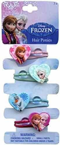 Disney Frozen 4 Hair Ponytails