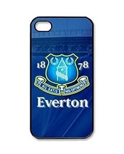 E Shine Everton Football Club Logo Phone Case For Samsung Galaxy S2 S3 S4 S5 Mini S6 Edge Note2 3 4 Iphone4S 5S 5C 6 Plus Ipod Touch 4 5