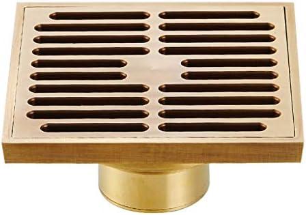 Encuadre de cobre Desodorante piso rejilla de desagüe, aseo ...