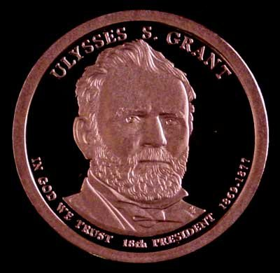 2011-S Ulysses S Grant Presidential Dollar GEM PROOF Coin