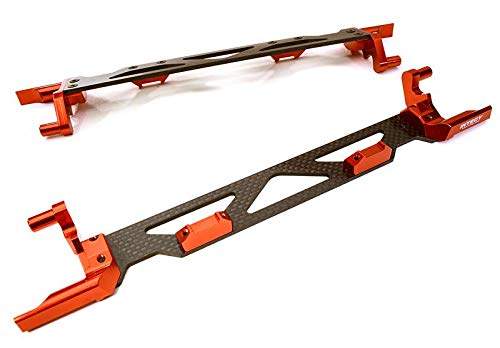 - Integy RC Model Hop-ups C26878RED Machined Alloy & Composite Battery Hold-Down Plate for Traxxas X-Maxx 4X4