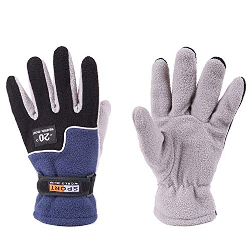 Sala-Sportswear - Cycling Gloves Winter Warm Full Finger Sports Riding Motorcycle Ski Snow Snowboard Gloves guantes ciclismo