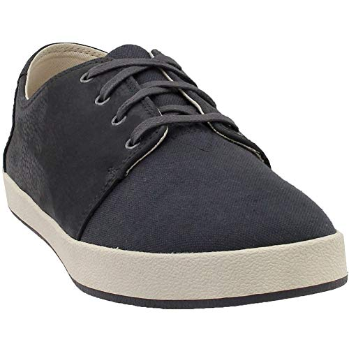 TOMS Men's Payton Forged Iron Grey Nubuck/Hemp Lace Up Shoes (10) (Top Ten Best Flat Irons)