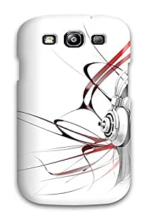 Hot 5060898K46474861 Excellent Galaxy S3 Case Tpu Cover Back Skin Protector Woman Artistic