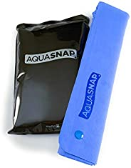 AQUASNAP PVA Cooling + Drying Towel with Snap Buttons