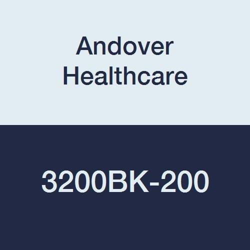 Andover Healthcare 3200BK-200 Coflex Non-Woven Cohesive Self-Adherent Wrap, 15' Length, 2'' Width, Black, Latex Bulk (Pack of 200)