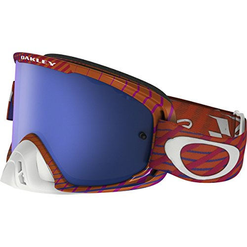 Oakley O2 MX TLD Collection Adult Off-Road Motorcycle Goggles Eyewear - Tremor POG/Black Ice & Clear / One Size Fits - About Oakley Sunglasses