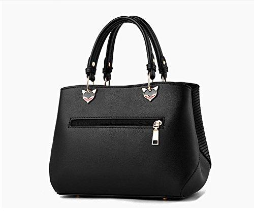 De Meaeo Hombro Desgaste Hot Paquete Moda Nuevos Bolso Impermeable De Rosa black Xiekua XrqXzv