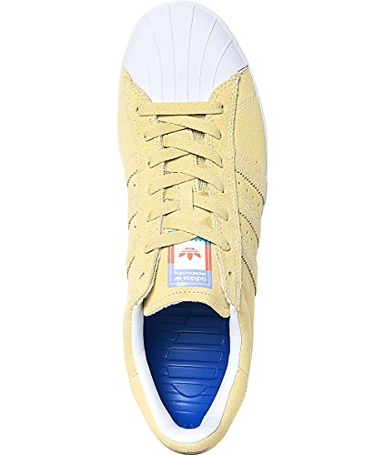 Adidas Superstar Vulc Adv Cg4838 - Pastell Gul - Oss Menns 10,5