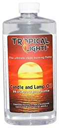 Crystal Clear Candle Oil and Lamp Oil