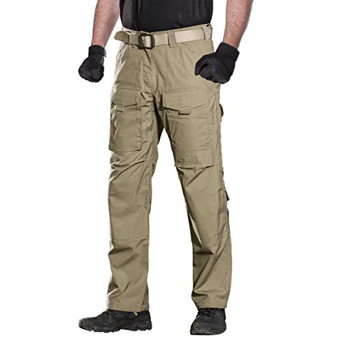 c66358b02a11 FREE SOLDIER Outdoor Men Teflon Scratch-Resistant Pants Four Seasons Hiking  Climbing Tactical Trousers - Buy Online in KSA. Sporting Goods products in  Saudi ...
