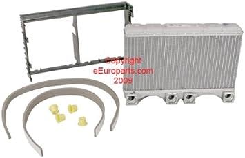 For BMW E38 740i 740iL 750IL HVAC Heater Core w// Aluminum Water Box NISSENS New